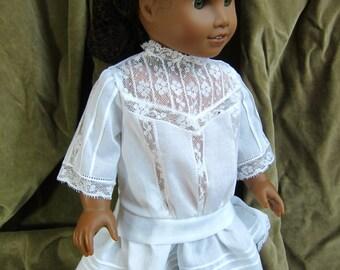 "Edwardian heirloom sewing pattern set for 18"" Dolls"