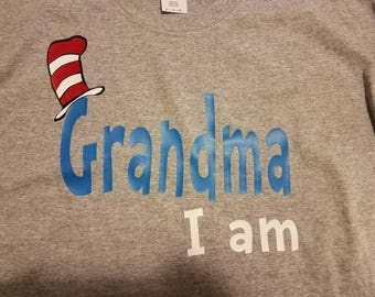 Dr. Seuss Personalized tshirt