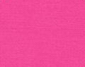 Bright Pink Kona Cotton Solid 25cm