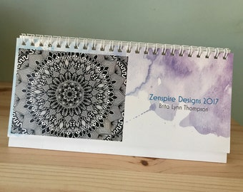 Zentangle - 2017 Desk Calendar