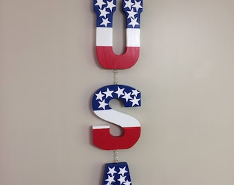 Red, White & Blue Home Decor