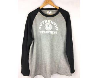 CHAMPION Authentic Department Size 3L Long Sleeve Sweatshirt