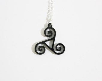 Druid's Triskelion necklace/keychain