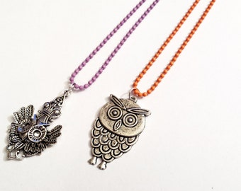 Sale! Owl theme Necklaces