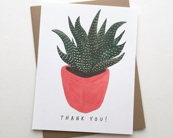 Succulent / Cacti // Thank You Cards