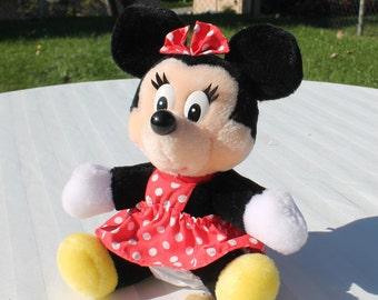 Minnie Mouse Plush Toy - Disney Minnie Mouse Stuffed Animal Toy
