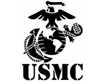 U.S. Marine Corp Decal