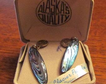 Glacier Pearl Earrings Alaskas Finest Quality Sterling Silver
