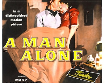 A man alone 1955 ray milland dvd-r