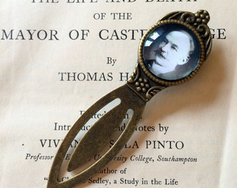 Thomas Hardy Bookmark - Thomas Hardy Gift, Tess of the d'Urbervilles Bookmark, Far from the Madding Crowd, Literary Bookmark Gift for Reader