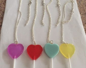 More Lollipop Necklaces!