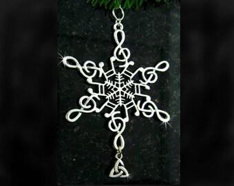 Trinity Music Snowflake Ornament