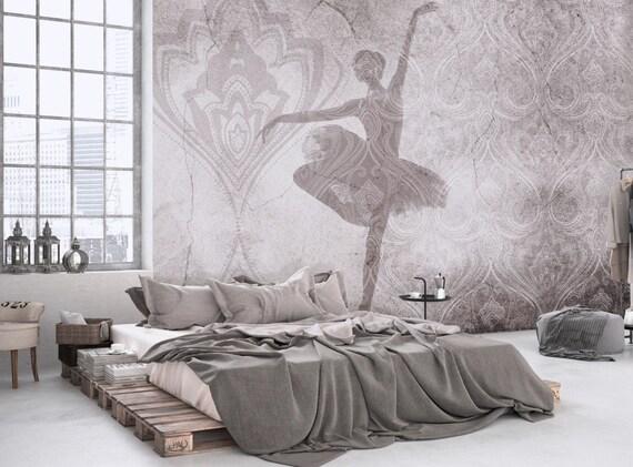 Tapete Wandbild tapete wandbild eleganz tapete verwitterten weiß grau