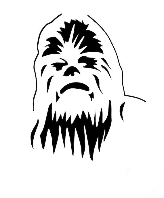 chewbacca window decal    chewbacca decal    bigfoot sticker