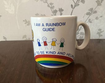 Girl guides cup. I am a rainbow guide