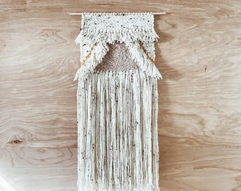 Feather, wall hanging by/ pacific loom