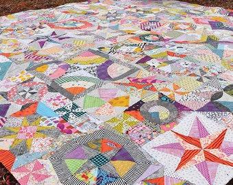 DELILAH By Jen Kingwell 12 Modern Blocks Quilt Pattern Book