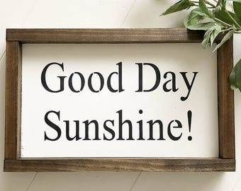 Good Day Sunshine