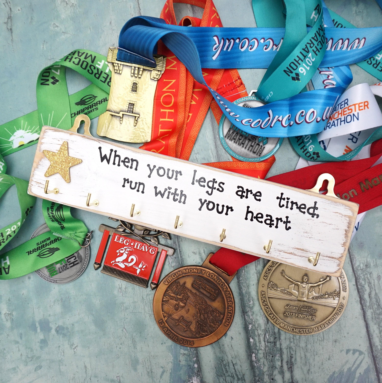 Medaille Aufhänger personalisierte Medaille Halter Rennen