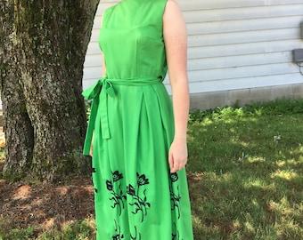 1950s Garden Party Dress