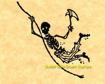Undead Pirate Scalawag Rubber Stamp