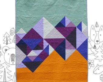Mountain Baby - PDF Quilt Pattern