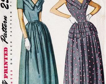 Simplicity 2384 1940's Dress