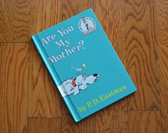Are You My Mother? by P. D. Eastman, Vintage Children's Book, Hard Cover Children's Book, 60's Kids' Book, Hardcover Book