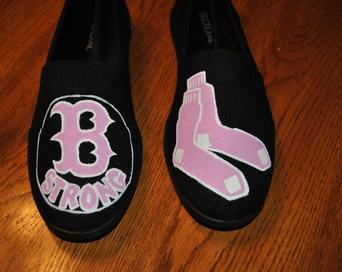 Cute AND Pink Boston Strong Custom order size 8 - SOLD