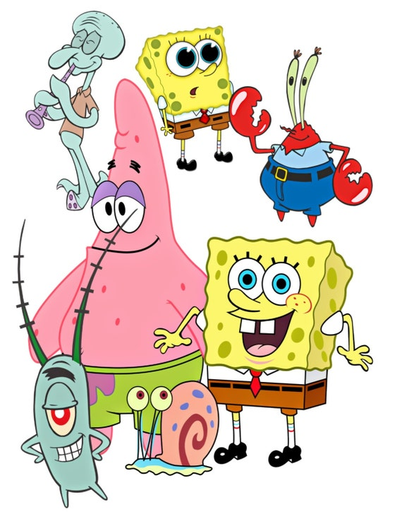SpongeBob Transfer SpongeBob CutoutPatrick Mr Krabs