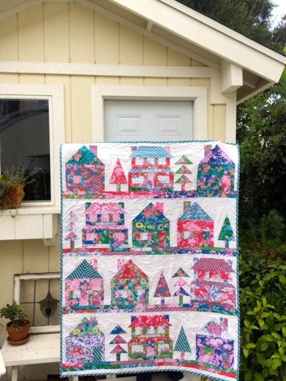 The Village Quilt Pattern