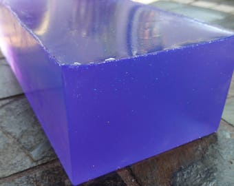 Lavender Olive Oil Soap Loaf
