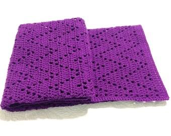 Crochet Blanket Pattern Ziggy Zaggy