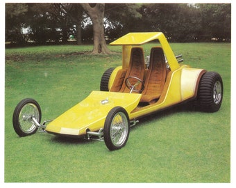 Man Cave 1969 The Sand Draggin Dune Buggy Street Rod Large