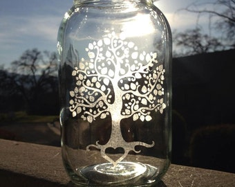 Mason Jar, Tree of Love, Tree of Life, Weddings,