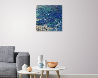 Giclee Print of Original Acrylic Painting - Under The Sea