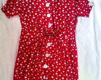 Candy Button dress