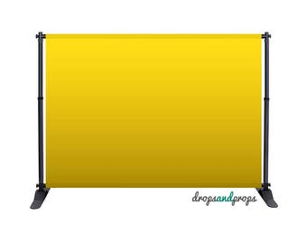Yellow Ombre - Photography Backdrop