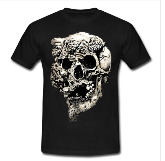 Elephant Man Skull Tee Shirt
