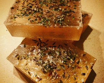 Lavender and Hemp Seed Oil Soap