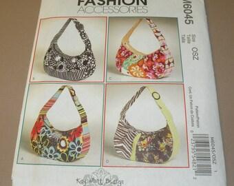 McCalls 6045  Purse pattern designed by Kay Whitt Uncut