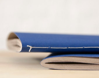 Blue Softcover Notebook | Sketchbook | Journal
