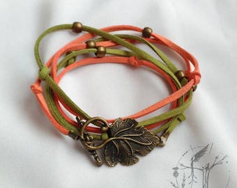 Double bracelet or summer necklace. Exclusive design
