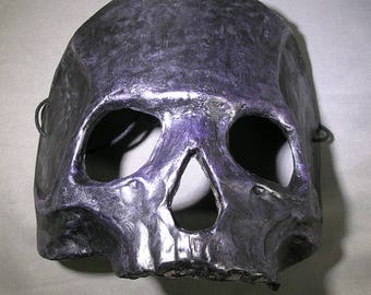 Giant Hominid skull mask or pauldron for cosplay larp Halloween ritual theatre