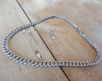 """Lovely """"Pegasus Coro"""" Chain Choker with Texture and Patina circa early 1950s excellent condition ~"""
