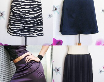 Short skirt made with your fabric