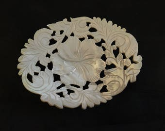Mother of Pearl hand craft Soap Dish