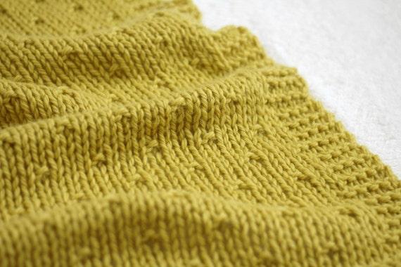 Knit Blanket Pattern Baby Blanket Pattern Knit Afghan Pattern