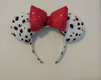 101 Dalmations inspired mouse ears