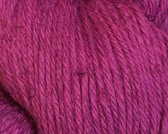 Raspberry Cascade Hampton Pima Cotton and Linen DK Weight Yarn 273 yards color 02